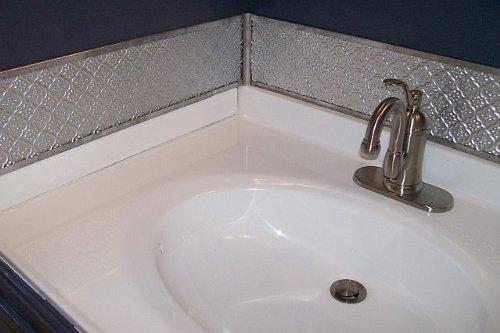 faux tin wc 40 patina copper decorative kitchen backsplash faux pvc