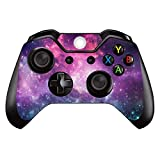 SKINOWN Skin Sticker for Microsoft Xbox One DualShock Wireless Controller (Purple Nebula)