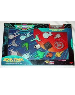 Micro Machines Star Trek Limited Edition Collector's ()