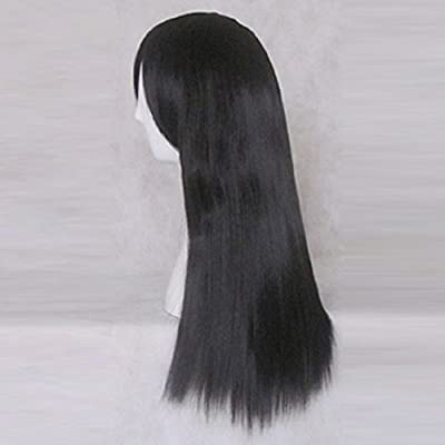 Amazon.com: Inuyasha Kagome Higurashi 60 cm de largo Negro ...