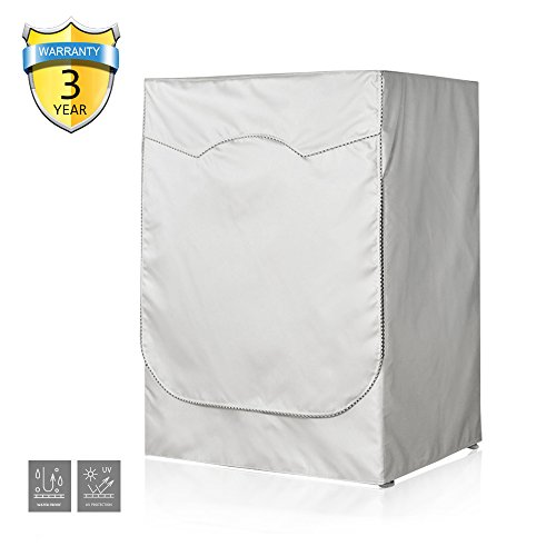 [AKEfit] Washing machine cover waterproof Sunscreen Thicker fabric Zipper design for easy use