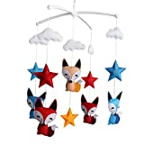 Best Newborn Baby Cribs - [Foxes and Stars] Newborn Baby Crib Mobile, Colorful Review