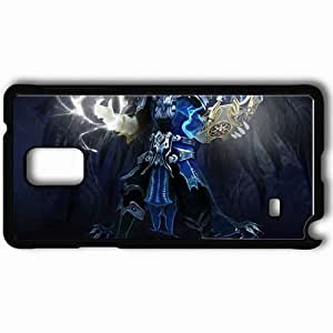 Personalized Samsung Note 4 Cell phone Case/Cover Skin Ai Black