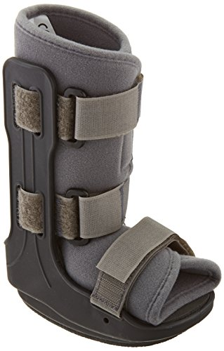 Sammons Preston Medium Pediatric Walker, Comfort Fit Brace and Support for Children and Kids, Lightweight Padded Immobilizer for Stable Fractures, Foot Injuries, and Ankle Sprains in Young Children by Sammons Preston