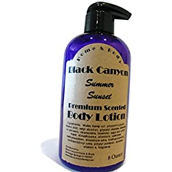 Black Canyon Summer Sunset Body Lotion, 8 oz