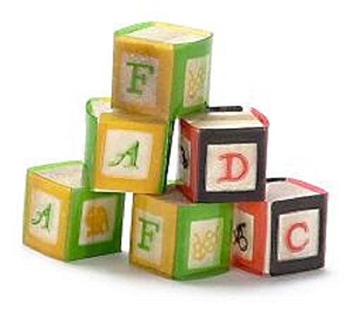 Dollhouse Little Alpha-Bet Baby Blocks