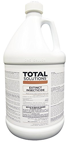 Extinct Residual Insecticide for Indoor & Outdoor - 4 Gallon case by Total Solutions