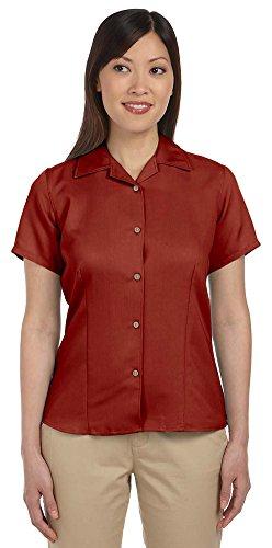 Harriton Ladies Bahama Cord Camp Shirt, Medium, TILE ()