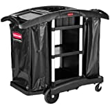 Rubbermaid Commercial Executive Series High-Security Housekeeping Cart