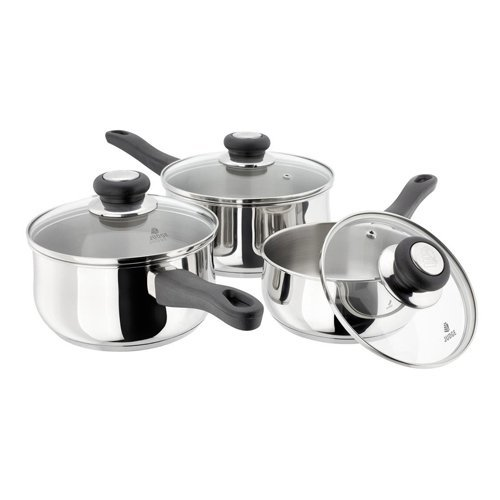 Judge Vista 3 Piece Set - 14/16/18cm Horwood Homewares JJA2 Cookware Cookware Sets