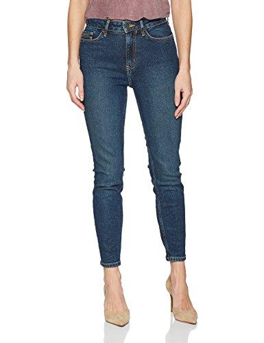 Calvin Klein Jeans Women's High Rise Ankle Skinny Denim Jean, Brownsville Blue, 29