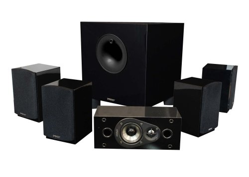 Energy 5.1 Take Classic Home Theater System (Set of Six, Black) (Cnet Best Soundbar Systems)