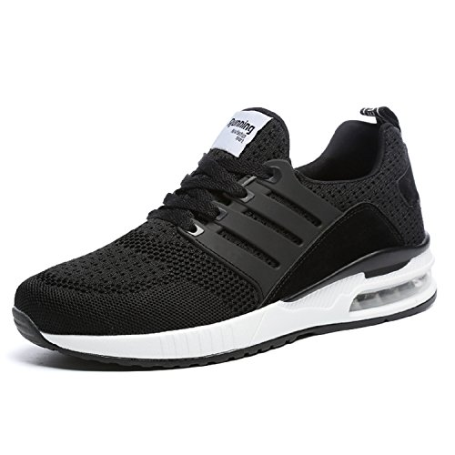 Adulte mastery Chaussures Course Air Mixte Sneakers Respirante Gym Femme De Noir Outdoor Baskets Homme Sports Running Shoes H Casual Fitness wfWdEqn11v