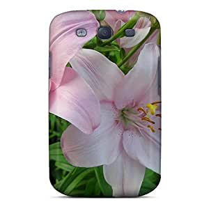 Premium Beautiful Lilies Heavy-duty Protection Case For Galaxy S3