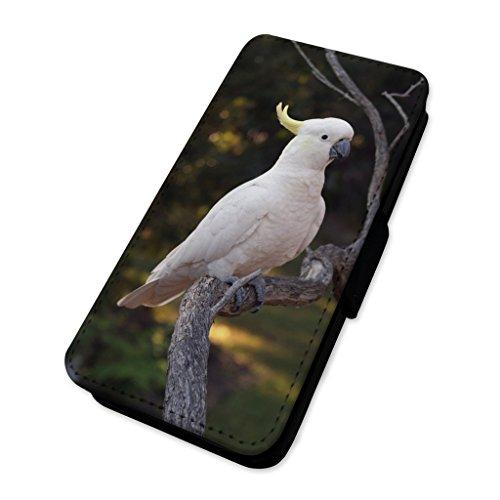 Cockatoo Parrot–Custodia ad aletta in pelle copertura di carta Apple Iphone 7 Plus