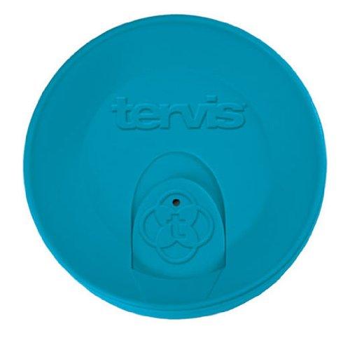 Turquoise Lid (Tervis 16oz Turquoise Trvl Lid W/slid)