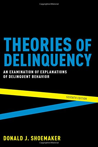 Theories of Delinquency: An Examination of Explanations of Delinquent Behavior