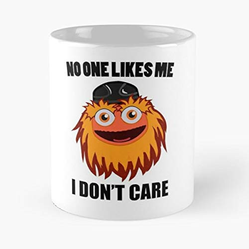 Gritty Philadelphia No One Likes Me I Dont Care - Best Gift Coffee Mugs 11 Oz Father Day ()