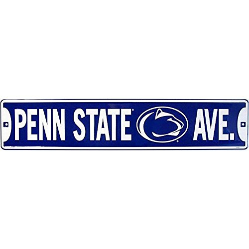 Lions Street Sign - Signs 4 Fun Sscps Penn State Ave w/Lion, Street Sign