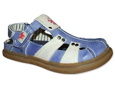 MUSTANG Sandalette in Blau Sandalette
