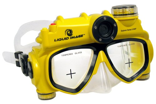 Liquid Image Explorer Series 5.0MP Underwater Digital Camera Mask ()