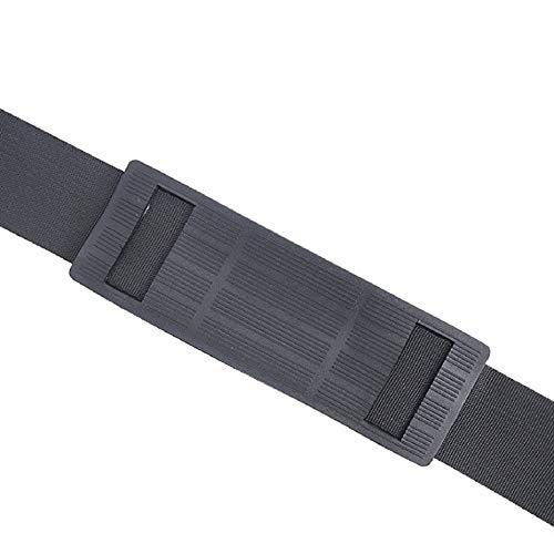 Noir Panamami Tige de Canne /à p/êche Ceinture Mouche Strap Rod Barel Strap bandouli/ère Tige Accessoires pour la p/êche Mer Eau de mer