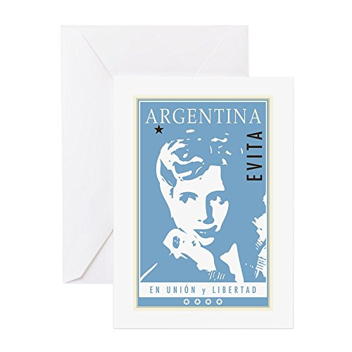 Price comparison product image CafePress - Argentina - Greeting Card, Note Card, Birthday Card, Blank Inside Matte
