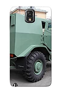 Galaxy Note 3 Case - Tpu Case Protective For Galaxy Note 3- Russian Red Star Russia Army Militarybasic Variant Of Toros Armored Vehicle 8 Case For Thanksgiving's Gift