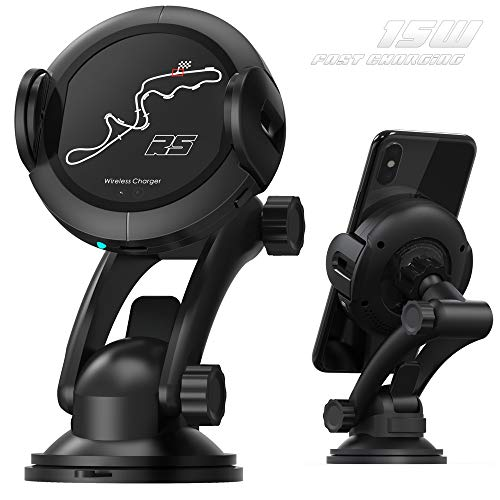 (Wireless Car Charger Mount - Fast Qi Car Charger for Samsung Galaxy S8/S9/Note 8. Wireless Charger Car Mount for iPhone XS 8/8Plus. Air Vent Phone Holder with Automatic Infrared Motion)