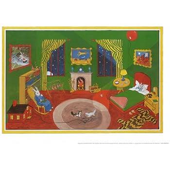 Amazon.com: Goodnight Moon Art Poster Print by Clement Hurd, 21x15 ...