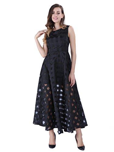 organza maxi dress - 4