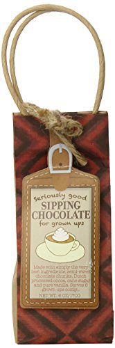 Pelican Bay Seriously Good Sipping Chocolate Mix for Grown-Ups, 6.0 (Sipping Cocoa)