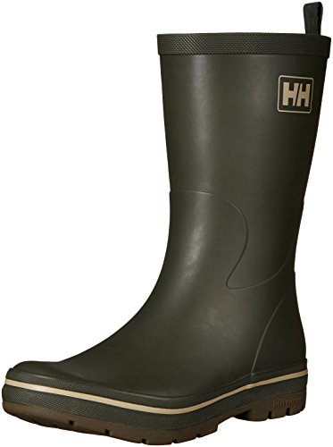 Helly Hansen Mens Midsund 2 Rain Boot Forest Night / Grigio Taupe