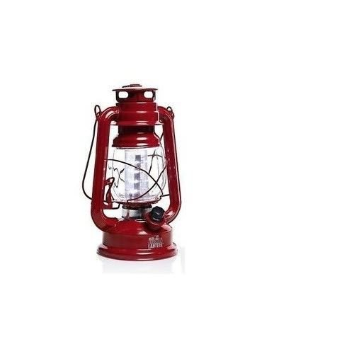 Red Olde Brooklyn Lantern LED Light Camping Antique Emerg...