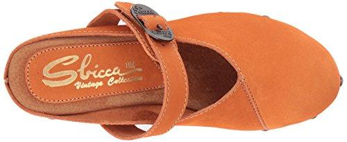 Sandalo Donna Tacco Sbicca Arancione Horton EqT0x
