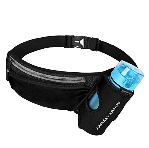 Myang Running Belt,Outdoor Waterproof Reflective Waist Pack For Women and Men Runner,Adjustable Running Pouch for iPhone X 6 7 8 Plus Samsung Galaxy Note s8 s7 s6 Plus by Myang