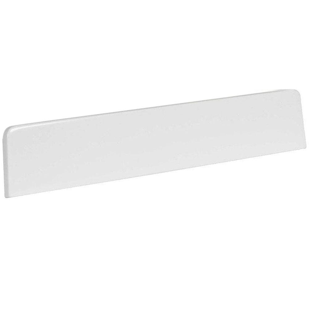 St. Paul 18 in. AB Engineered Composite Lite Sidesplash in White