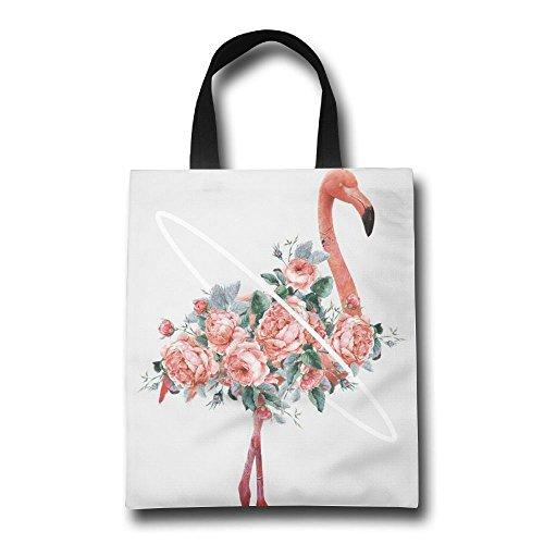 Flamingos Shopping Handle Tote Bag Bags pink Personalized Gjohkrt dIPOqzwq
