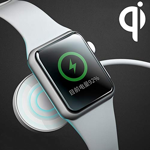 QGT Universal Magnetic Qi Standard Wireless Charger for Apple Watch Series 4 & 3 & 2 & 1 by QGT