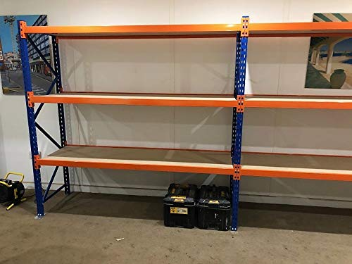 Add On Bay 2m x 2m x 60cm 3 tier Longspan Racking Automotive