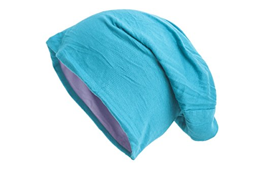 bicolor varios en Turquesa Gorro colores Shenky Disponible reversible lila 5UXRqxT