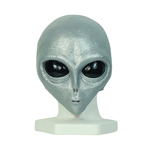 Little Grey Alien Mask - Teen/Adult Size -