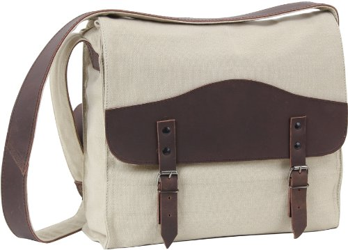 OliveDrab Rothco Vintage Canvas / Leather Medic Bag