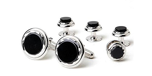 Diamond Onyx Cufflinks - 4