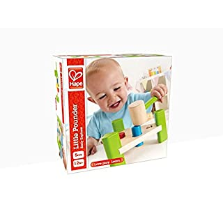 Hape Little Pounder Toddler Wooden Hammering and Music Toy