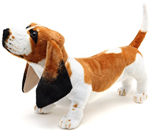 VIAHART Hubert The Basset Hound | Over 2 Foot Long Stuffed Animal Plush Dog | Shipping from Texas | by Tiger Tale Toys