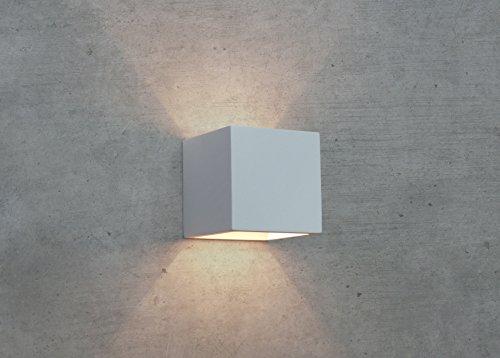 CLEO-12 Wandleuchte Gips Lampe Leuchte Wandlampe Gipslampe NEU