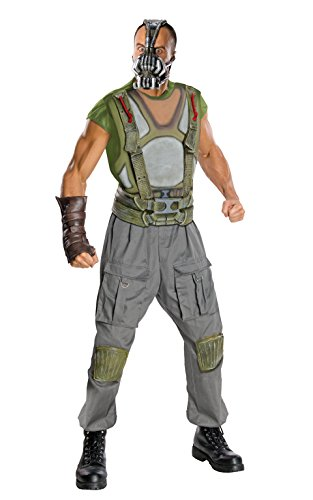 Bane Dark Knight Rises Deluxe Child Costumes (Batman The Dark Knight Rises Adult Deluxe Bane Costume, Multi-Colored, Medium)
