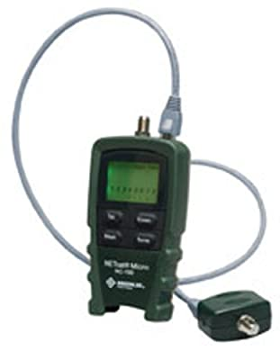 Greenlee NC-100 NETcat Micro Digital Voice, Data and Video Wiring Tester