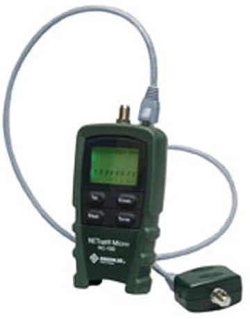 Greenlee NC-100 Verde comprobador de cables de red - Probador de cable de red